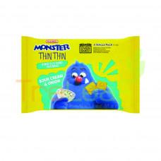 MAMEE MONSTER THIN THIN-SOUR CREAM & ONION (22GMX4'S)