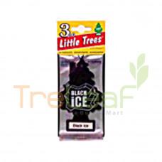 LITTLE TREE CAR FRESHENER BLACK ICE