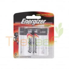 ENERGIZER MAX D 1.5V E95BP 2'S