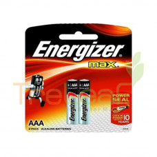 ENERGIZER MAX AAA 1.5V E92BP 2'S