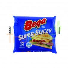 BEGA CHEDDAR CHEESE SUPER SLICE 250GM