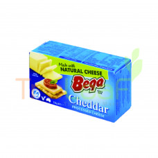 BEGA PROCESSED CHEDDAR BLOCK 250GM
