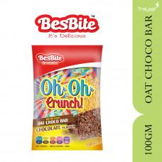BESBITE OH OH CRUNCH - OAT CHOCO BAR CHOCOLATE 100GM