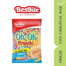BESBITE OH OH CRUNCH - OAT CHOCO BAR ORIGINAL 100GM
