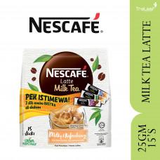 NESCAFE MILK TEA LATTE 25GMX15'S (+80GM)