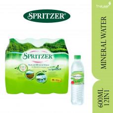 SPRITZER MINERAL WATER (600MLX12'S)