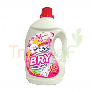 BRY SAKURA BLOOM DETERGENT WITH GROLLY SOFT (4.2KGX4)