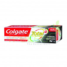 COLGATE TOOTHPASTE TOTAL CHARCOAL D.CLEAN 150GM