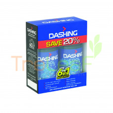 DASHING FOR MEN DEODORANT SPRAY COOL T/PACK (125ML) RM19.90