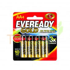 EVEREADY BATTERY ALKALINE GOLD AA