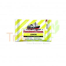 FISHERMAN'S FRIEND SUGARFREE LEMON (25GX24)