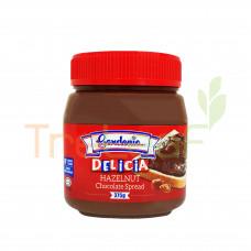 GARDENIA DELICIA HAZELNUT CHOCOLATE SPREAD 375GM