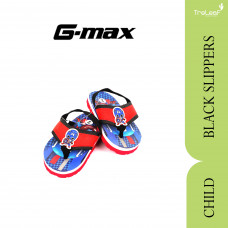 GMAX SLIPPERS FOR CHILDRENS BLACK