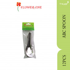 ABC STAINLESS STEEL SPOON 12PCS