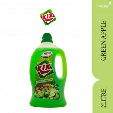 KIX FLOOR CLEANER GREEN APPLE 2L