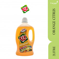 KIX FLOOR CLEANER ORANGE CITRUS 2L