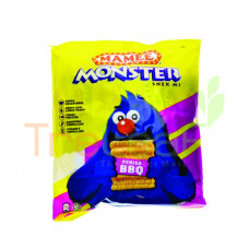 MAMEE MONSTER NOODLE SNACK BBQ XTRA KRUNCHY (25GX8'S)