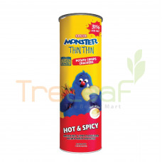 MAMEE MONSTER THIN THIN POTATO CHIPS-HOT & SPICY 100GM