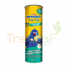 MAMEE MONSTER THIN THIN POTATO CHIPS-SOUR ONION 100GM