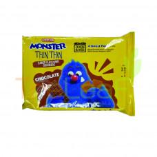 MAMEE MONSTER THIN THIN-CHOCOLATE (22GX4'S)