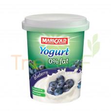 MARIGOLD 0% FAT YOGURT CREAM BLUEBERRY 135GM