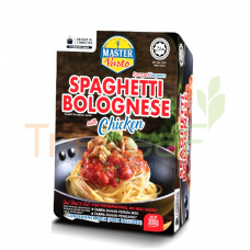 MASTER PASTO SPAGHETTI BOLOGNESE WITH CHICKEN PACK 300GM