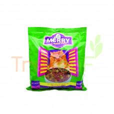 MERRY MEAT TIME SEAFOOD CAT FOOD - GREEN