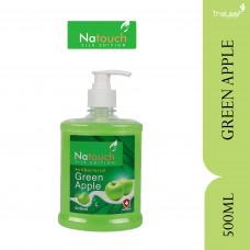 NATOUCH SILK HANDWASH APPLE GREEN 500GM