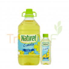 NATUREL CANOLA COOKING OIL 3KG FOC 250GM