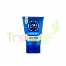 NIVEA FOR MEN DEEP CLEAN FOAM (50GM)
