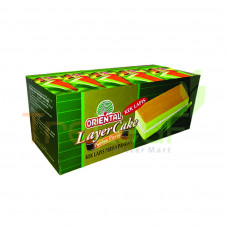 ORIENTAL LAYER CAKE PANDAN 18GM