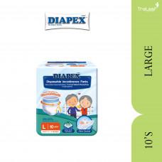 DIAPEX ADULT DIAPER BASIC L (10'S)