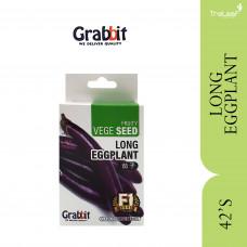 GRABBIT LONG EGGPLANT (+/-42SEEDS)