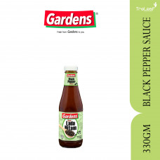GARDENS BLACK PEPPER SAUCE 330GM