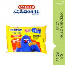 MAMEE MONSTER THIN THIN SPICY FRIED CHICKEN 4+1 22GX5'S