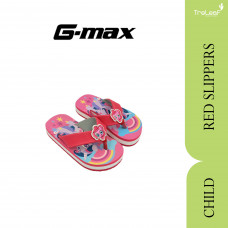 GMAX SLIPPERS FOR CHILDRENS RED