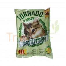 TORNADO CAT LITTER PEK JIMAT LEMON 10L