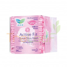 LAURIER PANTYLINER FRESH FLORAL PERFUME 20'S