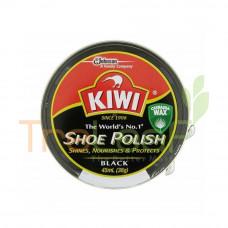 KIWI SHOE POLISH BLACK 45ML