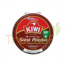 KIWI SHOE POLISH BROWN 45ML
