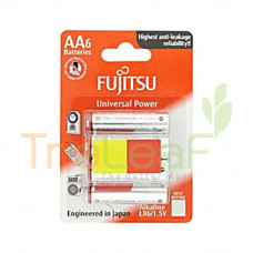 FUJITSU ALAKALINE LR6/1.5V 4+2'S AA