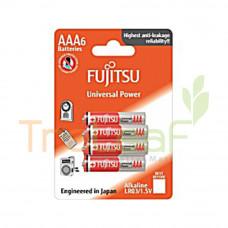 FUJITSU ALAKALINE LR03/1.5V 4+2'S AAA