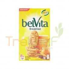 BELVITA CRACKER HONEY & CHOCO 160GM