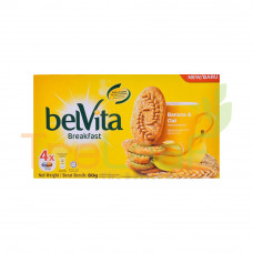 BELVITA CRACKER BANANA & OAT 80GM