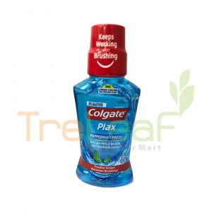 COLGATE MOUTHWASH PLAX PEPPERMINT 250ML