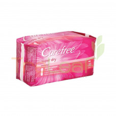 CAREFREE SUPER DRY UNSCENTED (20'S)
