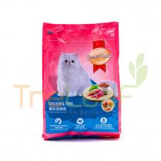 SMARTHEART DRY CAT FOOD-CHIC.&TUNA 1.4KG
