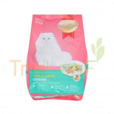 SMARTHEART DRY CAT FOOD-TUNA&SHRIMP 1.4KG