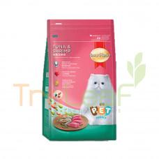 SMARTHEART CAT FOOD 480GM TUNA&SHRIMP