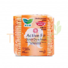 LAURIER PANTYLINER FRESH FRUITY 20'S